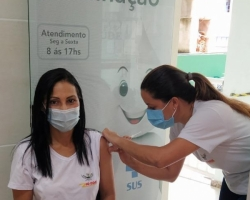 Primeira etapa da vacinação contra à Covid-19 é concluída em Rio Doce